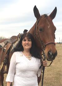 Donna Muniz & Spike an American Quarter Horse